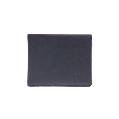 Бумажник KLONDIKE 1896 Dawson KD1120-01 натуральная кожа черный
