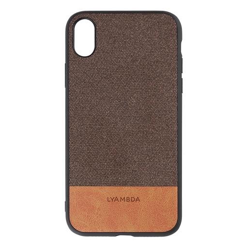 Чехол LYAMBDA CALYPSO для iPhone XS (LA03-CL-XS-BR) Brown чехол клип кейс lyambda calypso для iphone xs max la03 cl xsm br brown