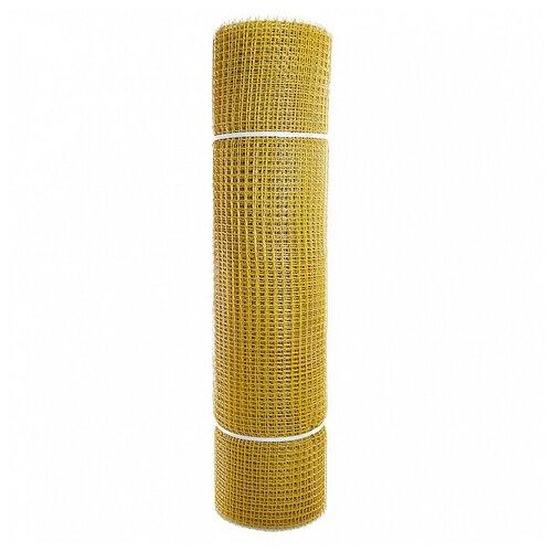 Гидроагрегат Сетка садовая пластиковая квадратная Профи 15x15мм, 1x20м, желтая Гидроагрегат сетка пластиковая садовая квадрат желтая ср 15 1 20 15х15 мм 1х20 м