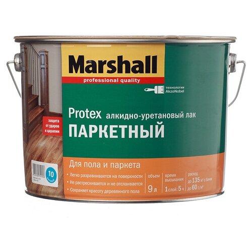 Фото - Лак Marshall Protex Parke Cila 10 алкидно-уретановый бесцветный 9 л лак marshall protex parke cila 40 алкидно уретановый бесцветный 2 5 л
