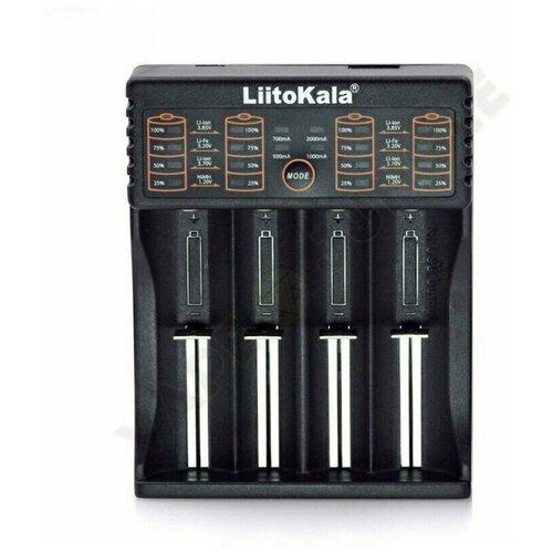 Фото - Интеллектуальное зарядное устройство LiitoKala Lii-402 зарядное устройство liitokala lii 202