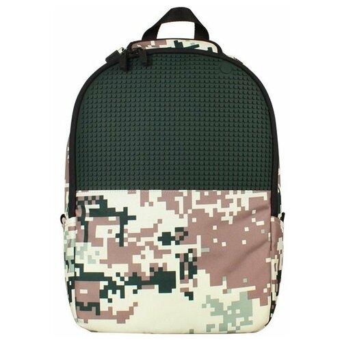 Upixel Рюкзак Camouflage Backpack WY-A021, зеленый