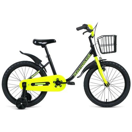 Фото - Детский велосипед FORWARD Barrio 18 (2021) черный (требует финальной сборки) детский велосипед forward barrio 18 2020 красный требует финальной сборки