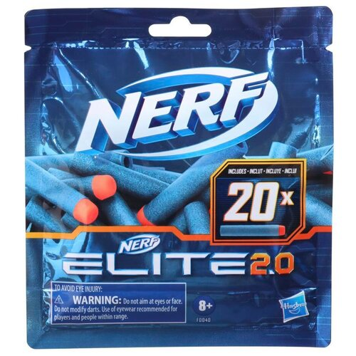 Патроны Nerf Elite 2.0 (F0040)