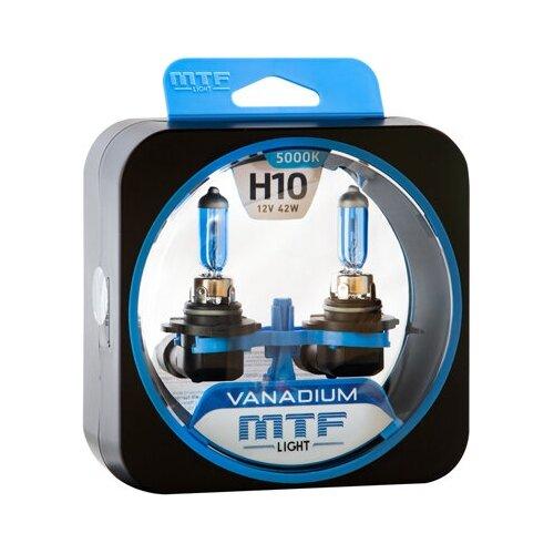Галогеновые лампы MTF light Vanadium 5000K H10