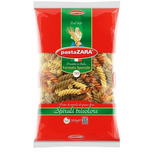 Pasta Zara Макароны Formato Speciali 573 Spirali tricolore с томатами и шпинатом, 500 г недорого