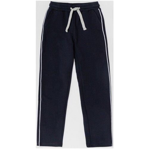 Спортивные брюки Button Blue размер 140, синий