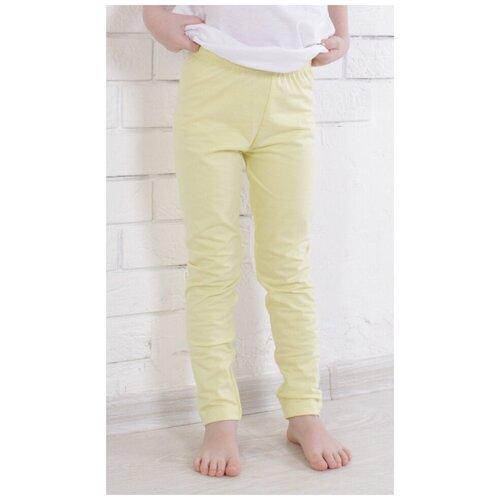 Фото - Брюки Jewel Style GB 10-130 размер 98, светло-желтый брюки jewel style gb 10 150 размер 140 синий