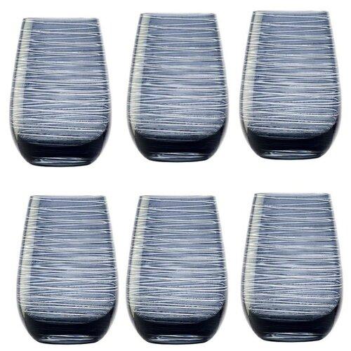 Набор стаканов Twister (465 мл), голубые, 6 шт., Stolzle палатка tramp lite twister 3