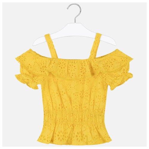 Блузка Mayoral размер 162, желтый