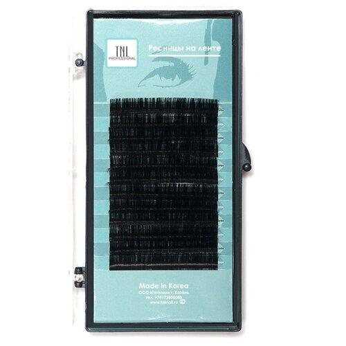 Купить TNL Professional Ресницы на ленте 10 мм D-изгиб 0.07 мм черный