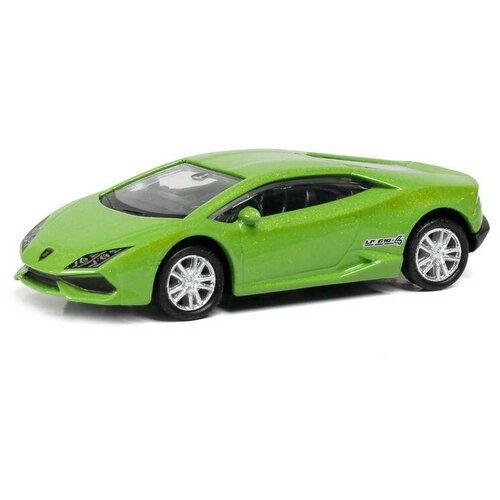 Легковой автомобиль RMZ City Lamborghini Huracan LP610-4 (344995) 1:64, зеленый