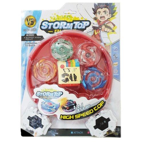 Фото - Игра Junfa Волчки StormTop, с игровой ареной игра plan toys волчки 4132
