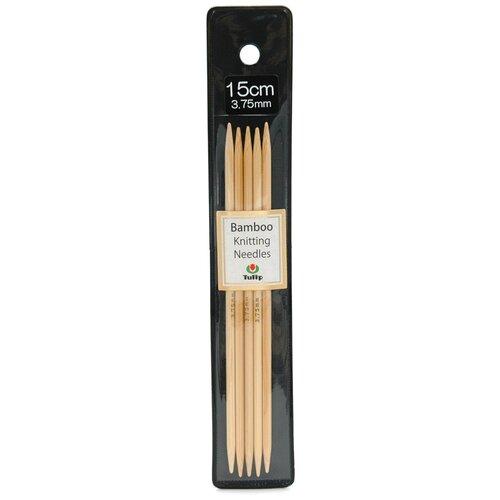 Купить Спицы чулочные Bamboo 3, 75мм/15см, Tulip, KND060375