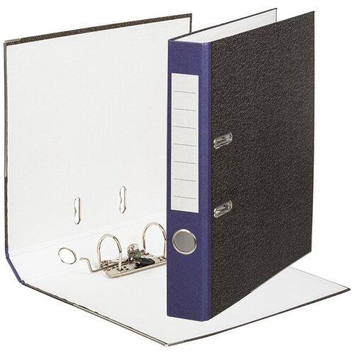 Фото - Папка-регистратор Attache Economy, 50 мм, мрамор с синим корешком attache папка регистратор economy под мрамор 50 мм черный синий