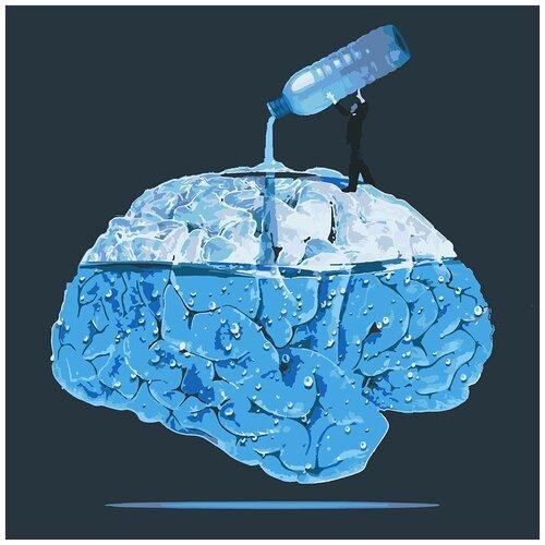 Картина по номерам Промывание мозгов, 60 х 60 см
