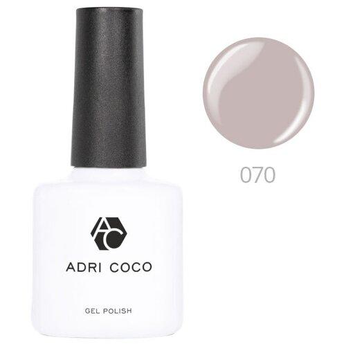 Купить Гель-лак для ногтей ADRICOCO Gel Polish, 8 мл, 070 серый