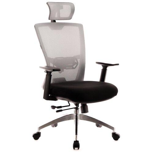 Компьютерное кресло Everprof Polo S для руководителя, обивка: текстиль, цвет: серый