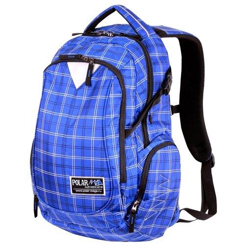 городской рюкзак 18209 синий Городской рюкзак POLAR П1572 (синий), синий