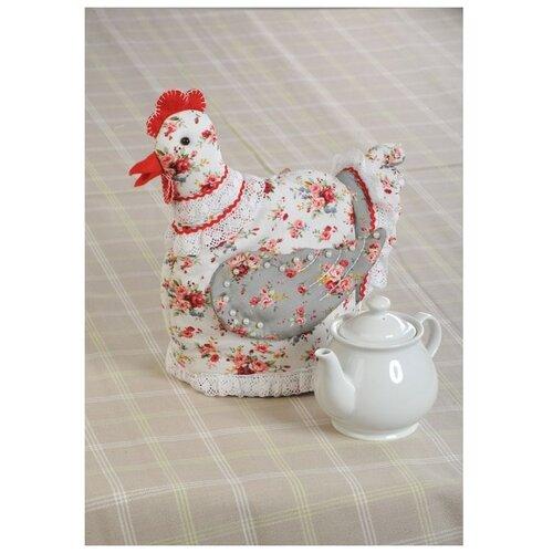 Набор для шитья «Курица-Грелка» (грелка на чайник), Перловка
