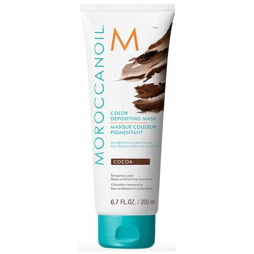 Купить Moroccanoil Color Depositing Маска тонирующая для волос Cocoa, 200 мл