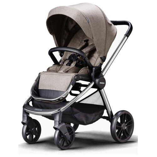 Прогулочная коляска Daiichi Allee, sand brown/chrome, цвет шасси: серебристый