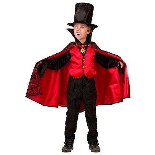 Купить Костюм Батик Дракула (8078), черный/красный, размер 146, Карнавальные костюмы