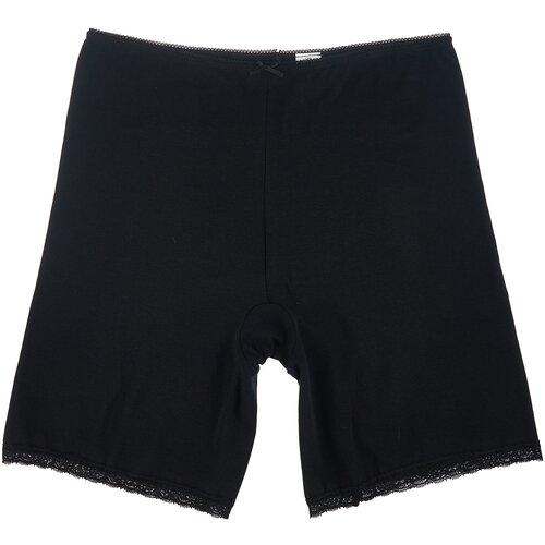 MiNiMi Трусы панталоны с завышенной талией, размер 50/XL, черный (nero)