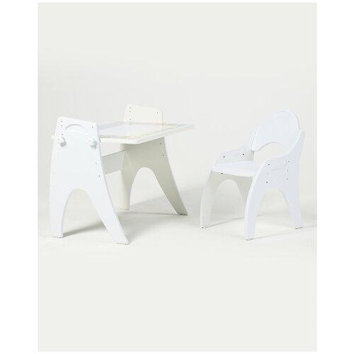Набор мебели стол стул детский магнитный 1 тип трансформер Тех Кидс Буквы-Цифры