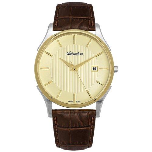 Фото - Часы наручные швейцарские мужские Adriatica A1246.2211Q мужские часы adriatica a1246 5217q