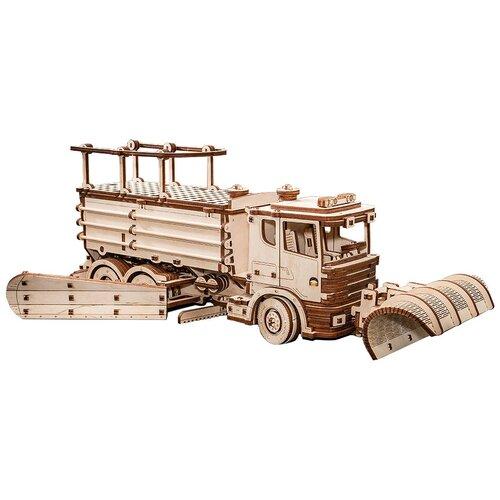 Фото - Сборная модель Eco Wood Art Сноутрак сборная модель eco wood art глобус голубой