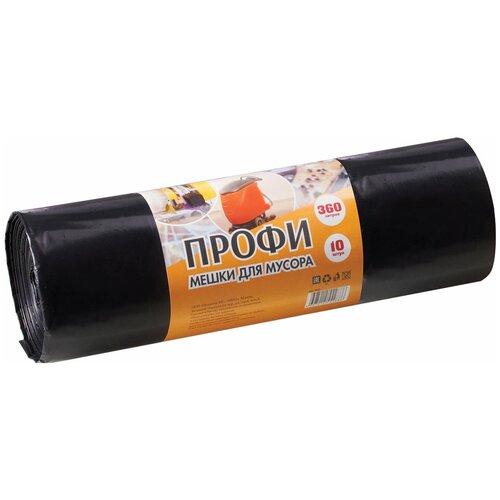 Фото - Мешки для мусора Концепция Быта Профи 360 л, 10 шт., черный мешки для мусора концепция быта гранит 30 л 20 шт черный