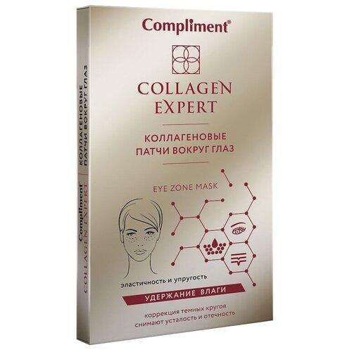 Купить Compliment Коллагеновые патчи вокруг глаз Collagen Expert, 4 шт.