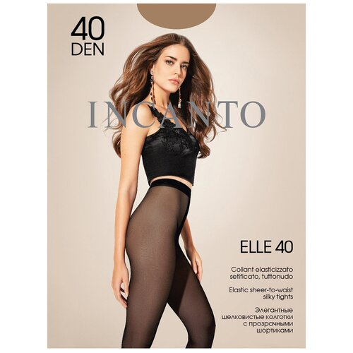 Колготки Incanto Elle, 40 den, размер 3-M, daino (бежевый)