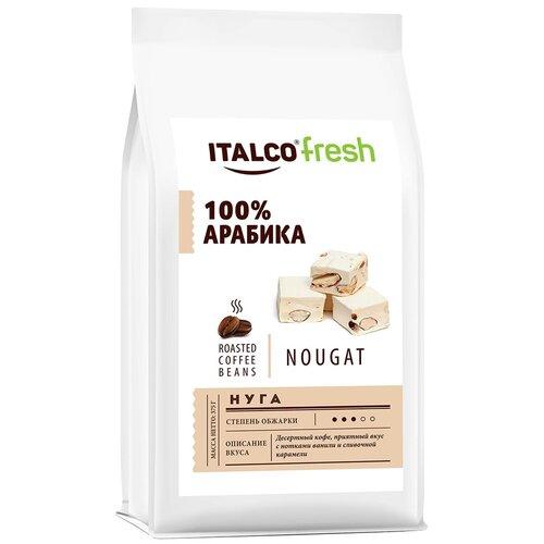 Фото - Кофе в зернах Italco Fresh Nougat, ароматизированный, 375 г кофе в зернах italco fresh irish cream ирландский крем ароматизированный 375 г