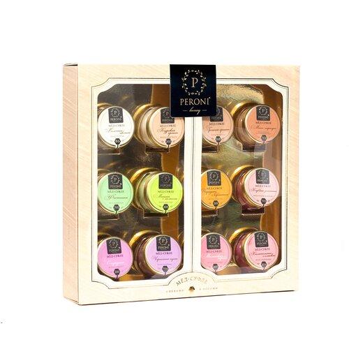 Крем-мед Peroni Коллекция вкусов, 12 шт. подарочный набор