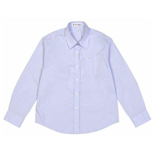 Рубашка Ciao Kids Collection размер 10 лет (140), голубой