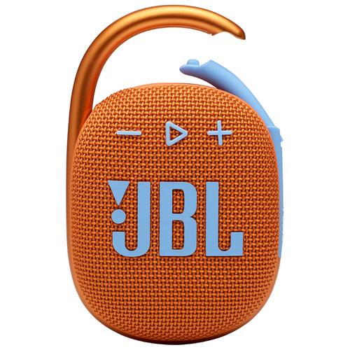 Портативная акустика JBL Clip 4, 5 Вт, оранжевый