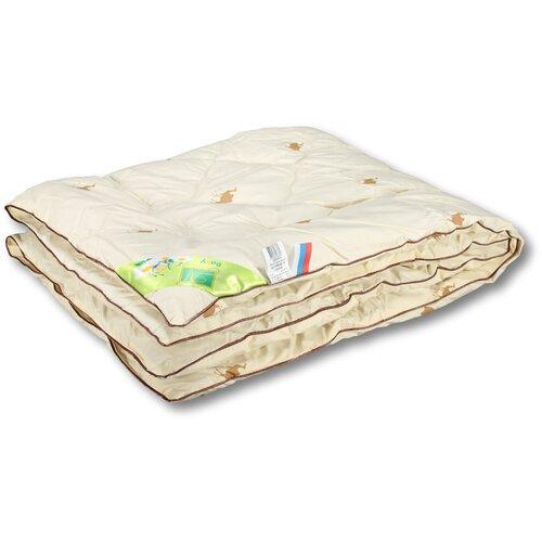 Одеяло для детей Верблюжонок классическое ОВШ-Д-10 (кремовый); Альвитек; Размер: ясли 110 х 140