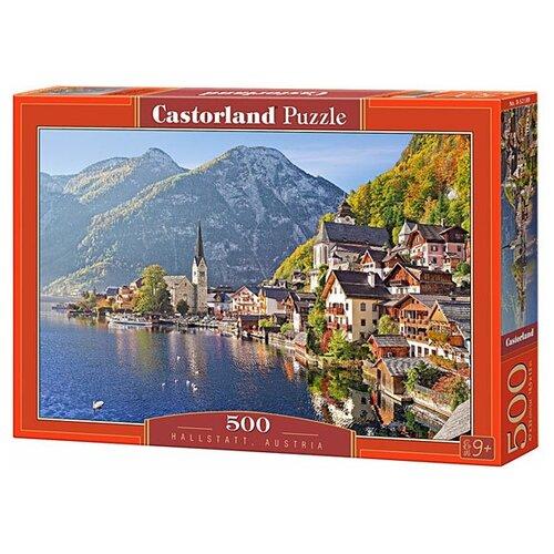 Фото - Пазл Castorland Hallstatt, Austria (B-52189), 500 дет. пазл castorland лето в альпах b 53360 500 дет