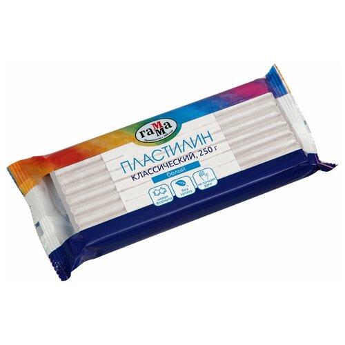 Купить Пластилин ГАММА Классический белый 250 г (270818_01), Пластилин и масса для лепки