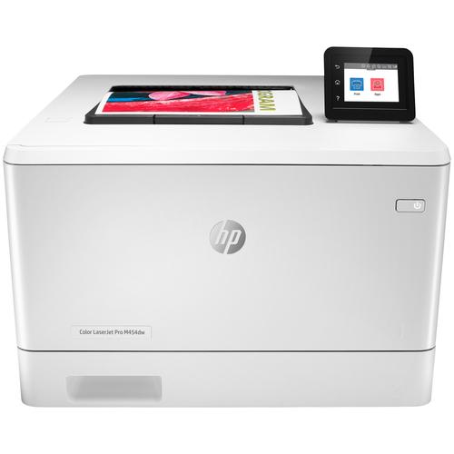 Фото - Принтер HP Color LaserJet Pro M454dw, белый принтер hp color laserjet pro m255dw 7kw64a