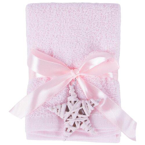 Arya Набор полотенец Poly 4 шт. для рук 30х30 см розовый arya набор полотенец bahar b птицы кухонное 40х60 см экрю розовый