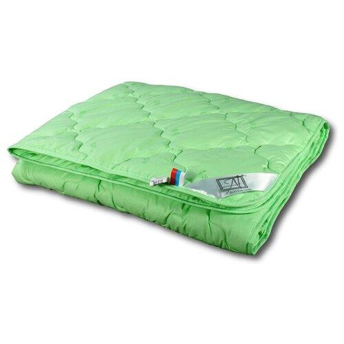 Фото - Одеяло АльВиТек Бамбук, всесезонное, 172 х 205 см (зеленый) одеяло альвитек модерато эко всесезонное 172 х 205 см сливочный