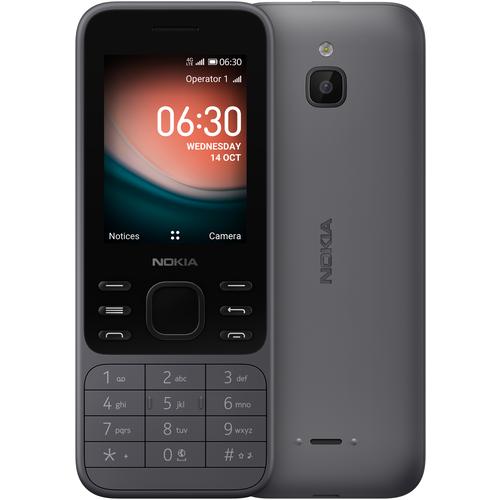 Телефон Nokia 6300 4G серый