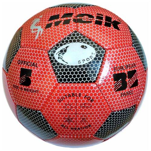 R18025 Мяч футбольный Meik-3009 3-слоя PVC 1.6, 300 гр, машинная сшивка