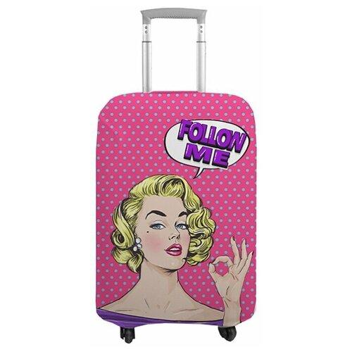 чехол на чемодан 18319 s 55 см Чехол на чемодан 11777., S (55 см)