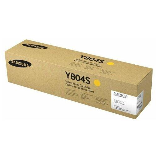 Фото - Картридж Samsung CLT-Y804S тонер картридж clt y804s