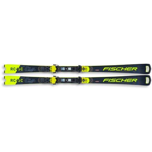 Горные лыжи с креплениями Fischer RC4 WC SC PRO M/O (20/21), 160 см