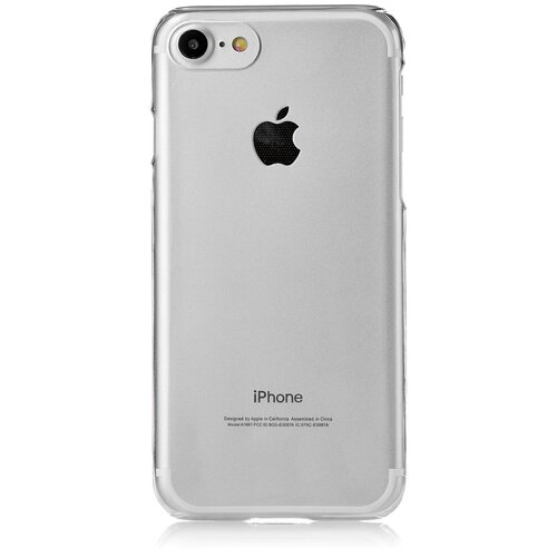 Фото - Чехол-накладка uBear Tone для Apple iPhone 7/iPhone 8 clear чехол накладка ubear soft tone для apple iphone 6 iphone 6s прозрачный